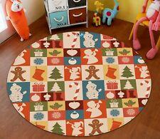3D Square Gift O80 Christmas Game Rug Mat Elegant Photo Carpet Mat An