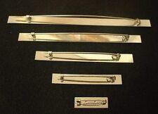 Different Size Medal Ribbon Bar Pins 1, 2, 3, 4, 5, Space Pin Bar Ribbon Bar Pin