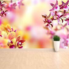 Photo papier peint murale non-tissée Orchidée Rose