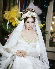 BARBRA STREISAND WEDDING GOWN PORTRAIT PHOTO OR POSTER
