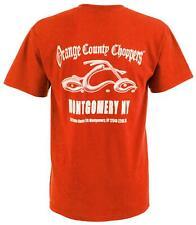 OCC Orange County Choppers T-Shirt Shirt Montgomery Arc Logo Rot