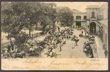 Venezuela Postcard Caracas El Mercado Market 1905