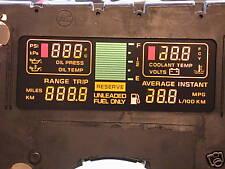 1985 -1989 85-89 CORVETTE DIGITAL DASH CLUSTER CENTER ENGINE INFO LED LCD NEW!