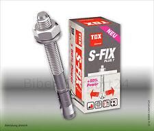 TOX S-Fix Plus 7 Bolzenanker verz. Schwerlastdübel Ankerdübel Ankerbolzen