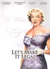 Lets Make It Legal (DVD; Full Screen) Claudette Colbert, Marilyn Monroe