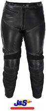 FRANK THOMAS Camero pour femmes en cuir moto Jeans femmes moto noir J&S
