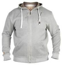 **NEW** Mens Big Size Duke 'D555' Grey Hoodie Hooded Sweatshirt 5XL 6XL 7XL 8XL