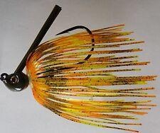 Bob4Bass Skirted Grass Jig Citrus Shad US023
