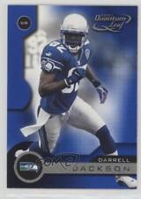 2001 Quantum Leaf #162 Darrell Jackson Seattle Seahawks Football Card