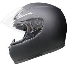 LEOPAR LEO-115 Fibre de verre Casque de Moto Casques Intégraux Crash Matt Noir