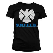 Officially Licensed S.H.I.E.L.D. Women T-Shirt S-XXL Sizes