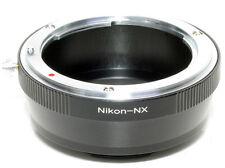 Anello adapter per ottiche Nikon su corpi Samsung NX (NX5-NX10-NX100 ecc.)