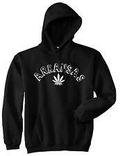 Marijuana Weed Arkansas USA State AR Pullover Hoodie