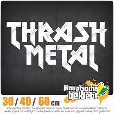 Thrash Metal Hardcore Heavy Death Guitar chf0895  in 3 Größen Heckscheibe