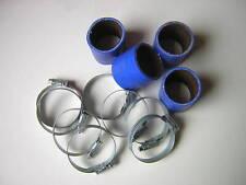 tubo in silicone 48mm fluorescente rivestito MOTO CARBURATORE KIT Blu