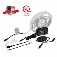 16 Ft Under Cabinet LED Tape Lights DIY Installation Kit 36w 2835 UL Listed A+