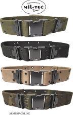 Cinturone militare tattico sgancio rapido cintura softair per uomo MILTEC