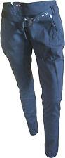 Santina Pantalone con cintura cerniere Fango donna vestibilità Taglia : 40 - 42