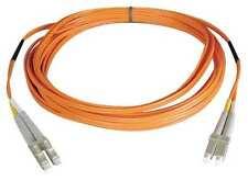 Tripplite N320-02m 2m Duplex Multimode LC LC 62.5/125 Fiber Optic Patch Qty 10
