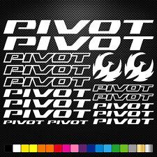 Pivot 17 Stickers Autocollants Adhésifs - Vtt Velo Mountain Bike Dh Freeride