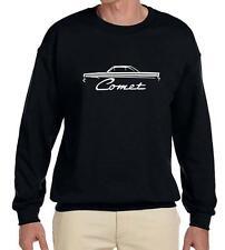 1964 Mercury Comet Coupe Outline Design Sweatshirt NEW