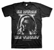 Licenza ufficiale in Lebowski Dude confidiamo 3XL, 4XL, 5XL T-shirt Uomo