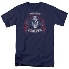 Bon Jovi Forever Skull T-shirts for Men Women or Kids