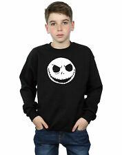 Disney niños Nightmare Before Christmas Jack Skellington Face Camisa De