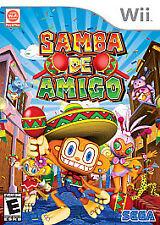 Samba de Amigo (Nintendo Wii, 2008) Video Game
