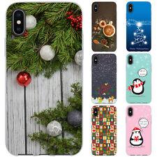 dessana Weihnachten XMAS TPU Schutz Hülle Case Handy Tasche Cover für Apple