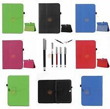 Stand Folio Leder Tasche für Samsung Google Nexus10 + Eingabestift