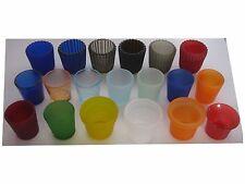 Teelichthalter Teelichtglas Glas Teelichter Votivglas Windlicht bunt FARBWAHL