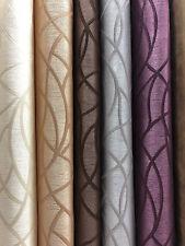 THG 1251 Stoff Polyester Gardinen Deko Vorhang 280 cm breit