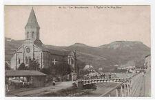 Eglise et le Puy Gros La Bourboule France postcard