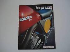 advertising Pubblicità 1974 FANTIC CABALLERO 125 RC