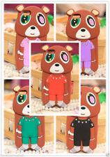 Cover morbida a forma di orsetto colori a scelta per Iphone 5 5s e Iphone 6 6s