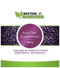Molto forte Acai Berry Pillole Dieta per una rapida perdita di peso Forte compresse DIMAGRANTE