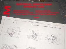 1988 DODGE DAYTONA WIRING ELECTRICAL SERVICE GUIDE SHEETS SET