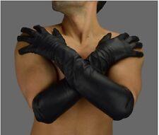 AWANSTAR Männer Lange Handschuhe Echt Leder,Anilinleder,echt lederhandschuhe