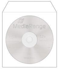 Papierhüllen Papier Hülle mit Fenster für CD DVD Blu-Ray Rohlinge 500/1000/2000