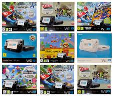 Nintendo Wii U Konsole zur Auswahl 8-32 GB, Weiss, Schwarz, Mario Kart,  OVP