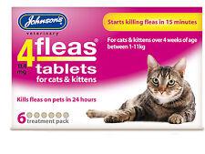 Johnsons Gato Pulgas Tabletas Para Gatos Y Gatitos, 3pk, 6pk, comprar a granel opciones