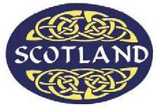 Scottish Car Bumper Window Oval Sticker Decal Vinyl Scotland Blue Celtic