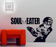 Soul Eater Death the Kid Manga Cartoon Decorative Vinyl Wall Sticker Decal Anime
