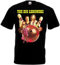THE BIG LEBOWSKI T shirt black all sizes