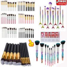 10Pcs Makeup Brushes Set Face Powder Contour BB Cream Brushes Amazing Tool US