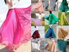 Gonna lunga da spiaggia moda mare copri costume bagno pareo da donna in tulle