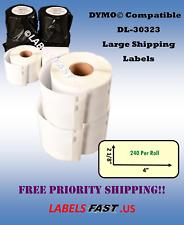 Large Shipping Mailing Postage 30323 Address Labels Thermal Adhesive - BPA Free