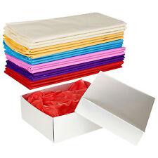 Carta Velina 50x70cm Colorate Regalo Fogli da Avvolgere Confezione Arts Bambini