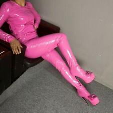 Custom-made Womens Shoes Jumpsuits Boots Bowknot High Heels Clubwear Boots Pants
